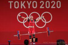 Daftar Perolehan Medali Olimpiade Tokyo 2020, Indonesia Peringkat Ke-19