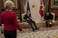 Insiden Salah Duduk Presiden Komisi Eropa Saat Temui Erdogan, Presiden Dewan Eropa Malu