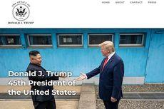 Trump Luncurkan Situs Web Resmi, Bisa Booking Mantan Presiden dan Ibu Negara