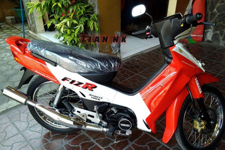 Yamaha FIZR salah satu motor yang direstorasi Tian NK