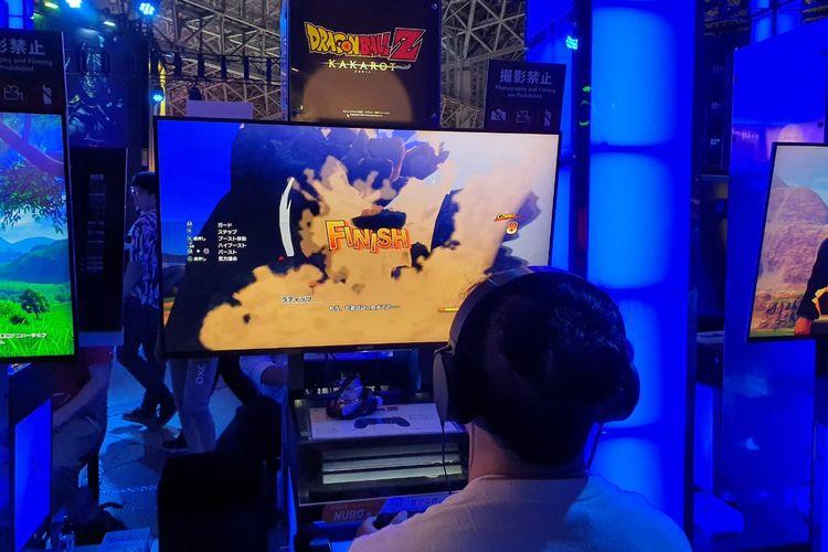 KompasTekno menjajal game Dragon Ball Z: Kakarot di Tokyo Game Show 2019