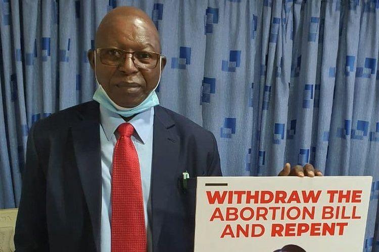 Dr Stephen Karanja yang menentang vaksin virus corona dan meninggal akibat Covid-19 pada Kamis (29/4/2021) di Kenya.