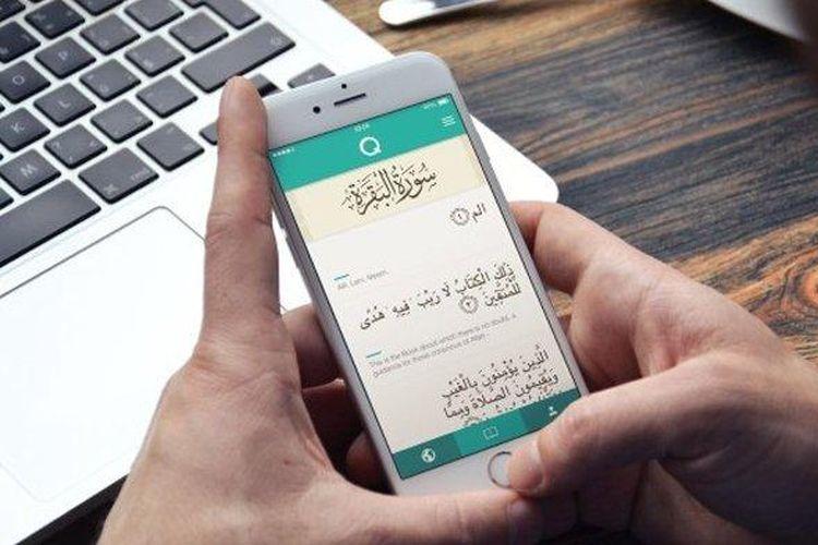ilustrasi Aplikasi Al Quran