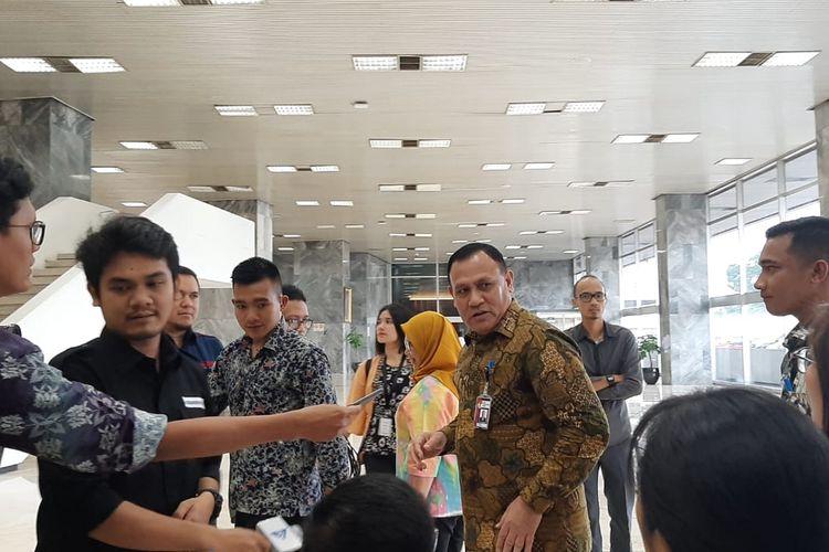 Ketua KPK Firli Bahuri tiba di Gedung Nusantara III DPR, Senayan, Jakarta, Kamis (6/2/2020).