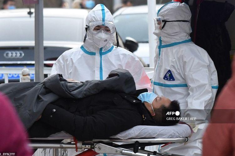 Komisi Kesehatan Nasional China melaporkan 115 kasus Covid-19 baru pada Rabu (13/1/2021).