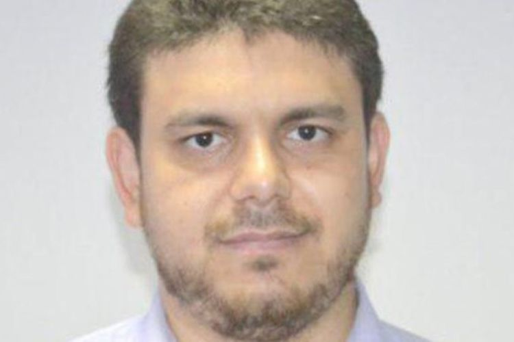 Fadi al-Batsh, dosen berkebangsaan Palestina yang tewas ditembak di Kuala Lumpur, Malaysia, Sabtu (21/4/2018).