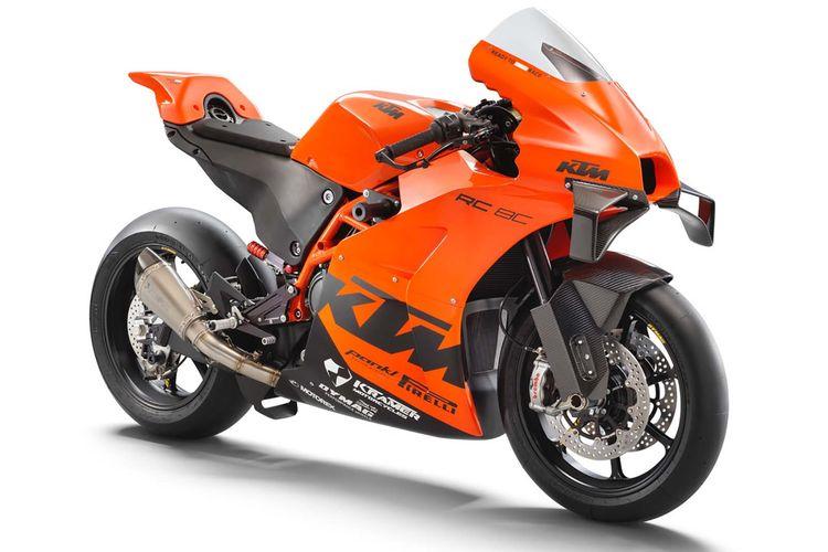 Motor balap KTM RC 8C, dibuat terbatas hanya 100 unit