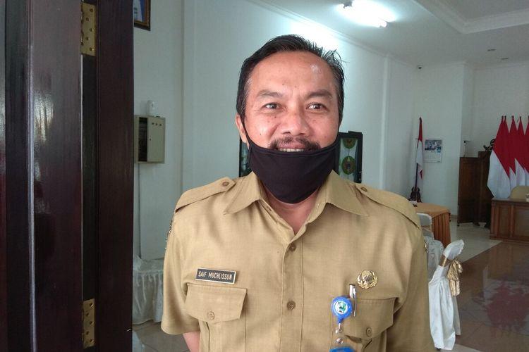 Kepala Dinas Kominfo Kabupaten Magetan Saif Muchlisun. Pemerintah Kabupaten Magetan akan melakukan rapid test terhadap santi dari Malaysia yang sat ini masih berada di Pondok Temboro.