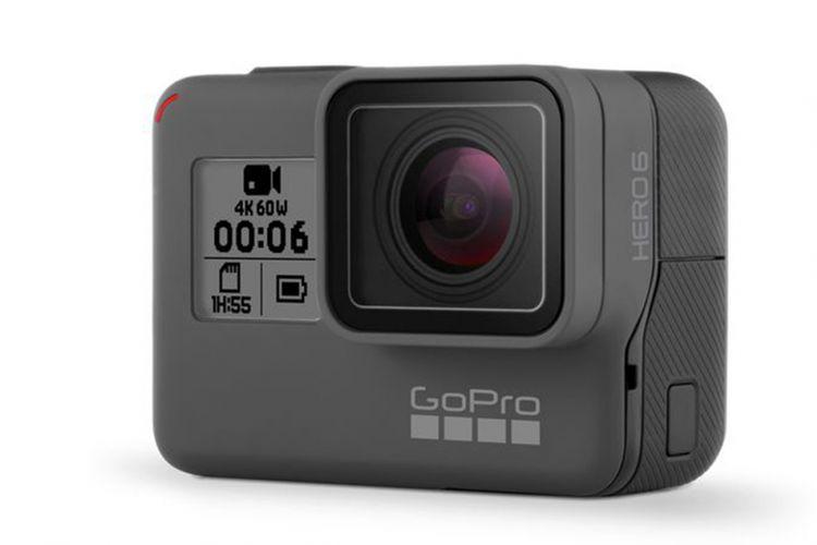 Kamera aksi GoPro Hero 6