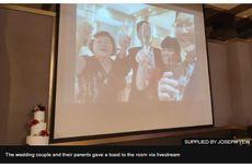 Wabah Virus Corona, Pasangan di Singapura Ini Gelar Pernikahan secara