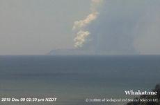 Gunung Meletus di Pulau Selandia Baru, 5 Orang Tewas