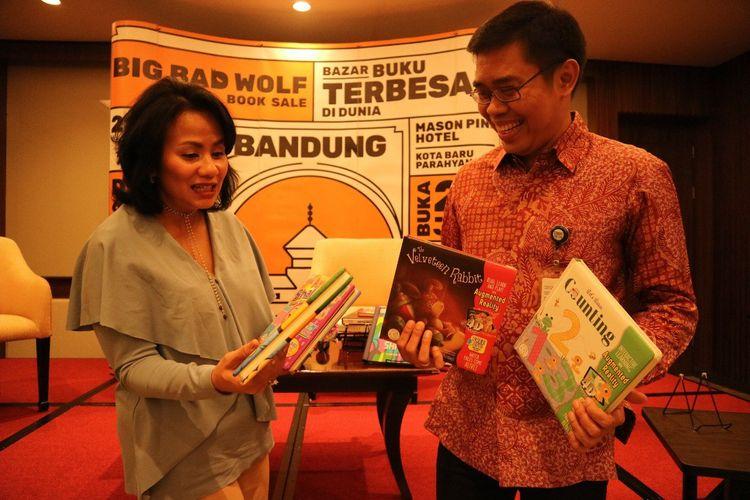 Bazar buku Big Bad Wolf akan digelar di Mason Pine Kota Baru Parahyangan, 28 Juni-8 Juli 2019.