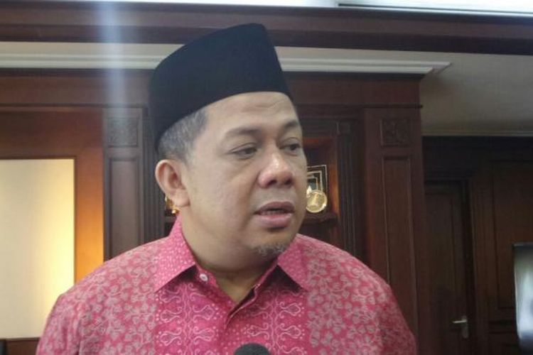 Wakil Ketua DPR RI Fahri Hamzah di Kompleks Parlemen, Senayan, Jakarta, Selasa (17/1/2017).