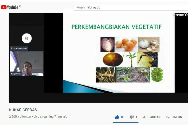 Para guru di Kutai Kartanegara, Kalimantan Timur, memanfaatkan pembelajaran online dengan steaming  Youtube untuk mendampingi siswa belajar di rumah. Walaupun baru diluncurkan lebih dari 1.400 siswa mengikuti pembelajaran online  dengan didampingi guru secara online dan orangtuanya di rumah.