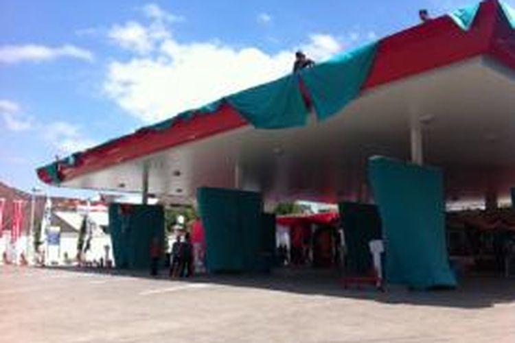 SPBU Pertamina yang sebelumnya dimiliki Petronas