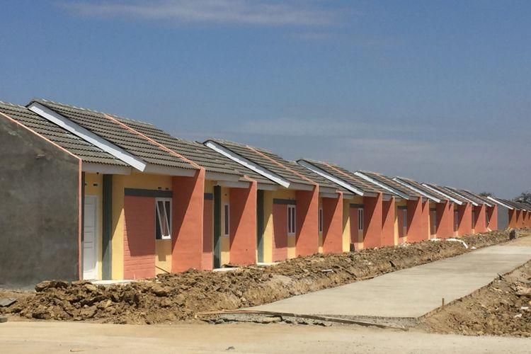 Ilustrasi rumah subsidi.
