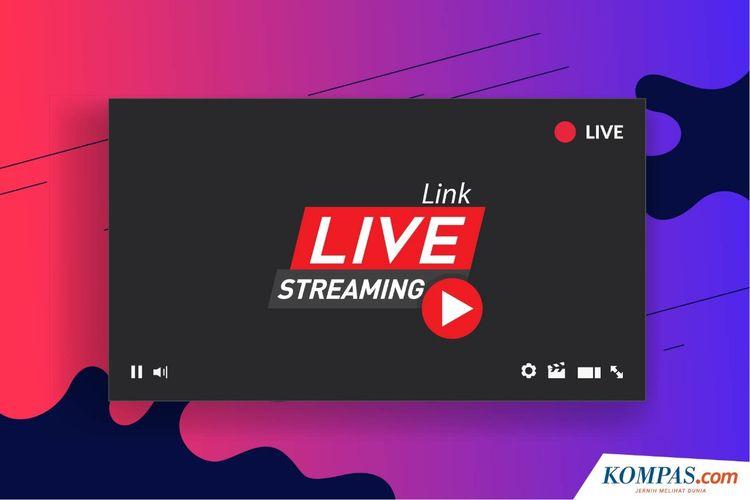 Ilustrasi link live streaming.