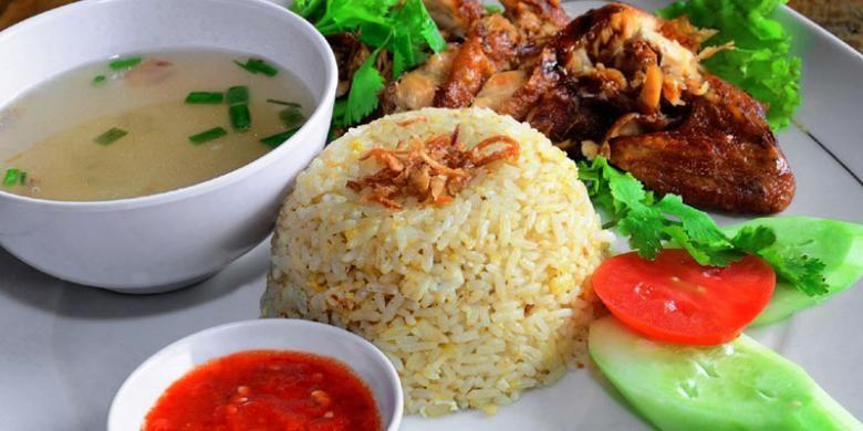 Nasi Ayam Hainan.