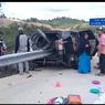 Tak Ada Korban Jiwa dalam Kecelakaan Mobil Tertembus Pembatas Jalan di Tol Balsam