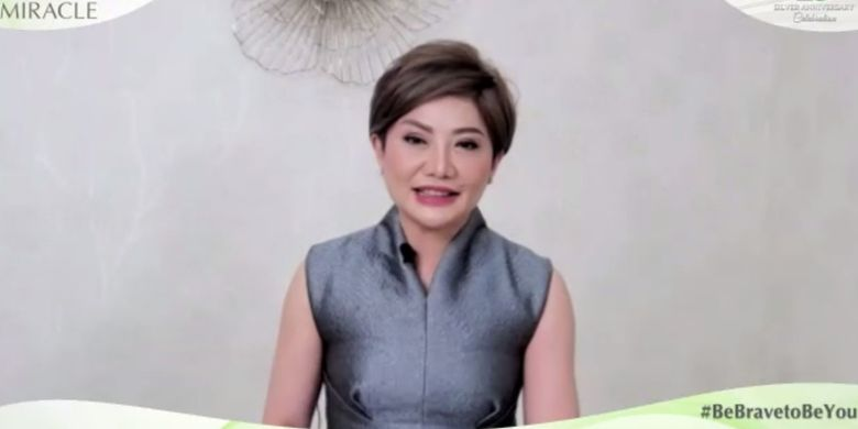 Dr. Lanny Juniarti Dipl. AAAM, Founder dan President Director Miracle Aesthetic Clinic Group,