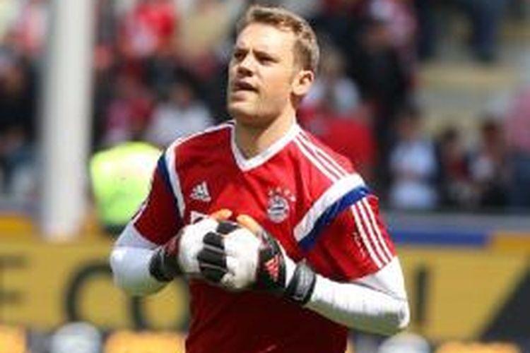 Kiper Bayern Muenchen asal Jerman, Manuel Neuer.