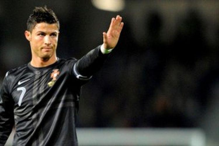 Bintang Real Madrid, Cristiano Ronaldo.
