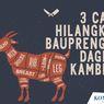 INFOGRAFIK: 3 Cara Hilangkan Bau Prengus Daging Kambing