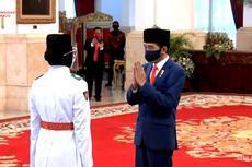 Jokowi Kukuhkan Anggota Paskibraka, Tahun Ini Jumlahnya Hanya 8 Orang
