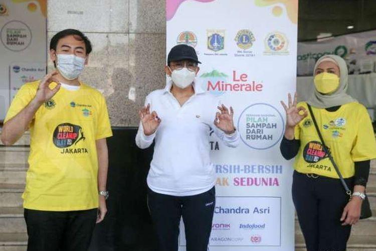 Lions Club kembali menyelenggarakan aksi bersih-bersih serentak di dunia atau World Cleanup Day (WCD).
