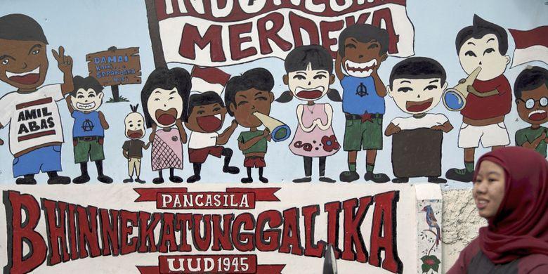 Keberagaman Dalam Bingkai Bhinneka Tunggal Ika Halaman All Kompas Com