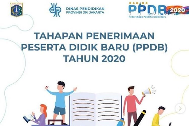 Ilustrasi PPDB Jakarta tahun 2020