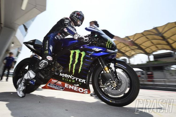 Maverick Vinales tes pramusim MotoGP Sepang