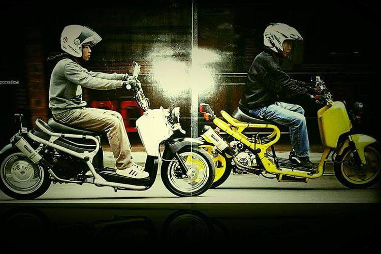 Modifikasi skutik bergaya Honda Zoomer atau Ruckus