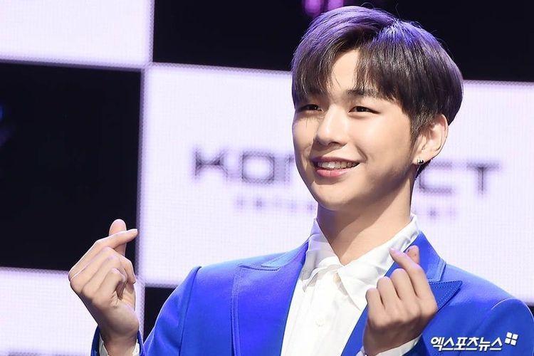 Bintang Kpop Kang Daniel meluncurkan album perdana sebagai artis solo berjudul Color On Me pada Kamis (25/7/2019).