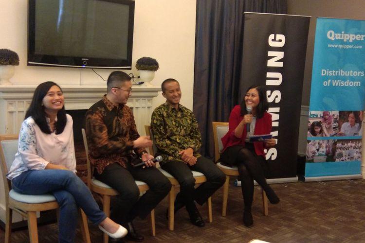 Kolaborasi Quipper dan Samsung
