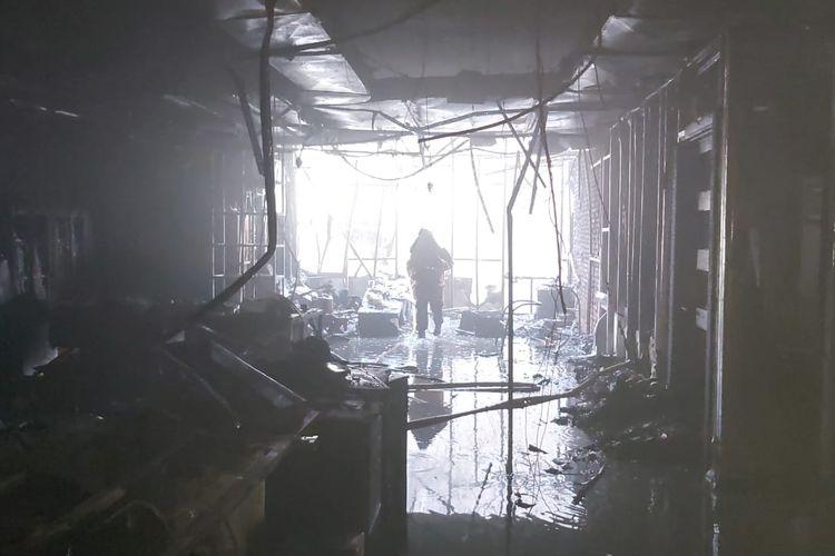 Kebakaran di Gedung KPP Pajak Pratama di Jalan Tebet Raya, Tebet, Jakarta Selatan pada Jumat (28/5/2021) akhirnya berhasil dipadamkan dalam tiga jam.