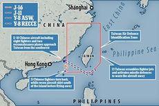 China Luncurkan 10 Pesawat Termasuk Jet Tempur ke Wilayah Udara Taiwan