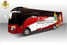 Model Baru Bus Medium Buatan Morodadi Prima