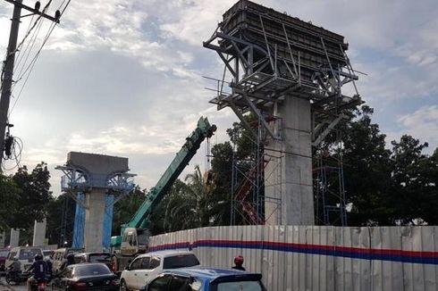 Pembangunan LRT Palembang Baru 7,5 Persen