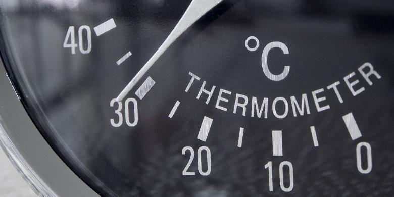 Ilustrasi suhu.