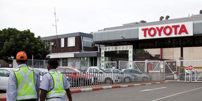 Pabrik Toyota yang ada di wilayah Durban, Afrika Selatan.