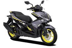 Yamaha Aerox Pakai Kelir Baru, Harga Naik Tipis