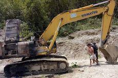 KKB Bakar Alat Berat di Pegunungan Bintang, Proyek Jalan Trans Papua Dihentikan Sementara