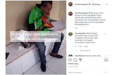 Viral Video Anggota Polda Banten Patungan Bayar Orderan Driver Ojol