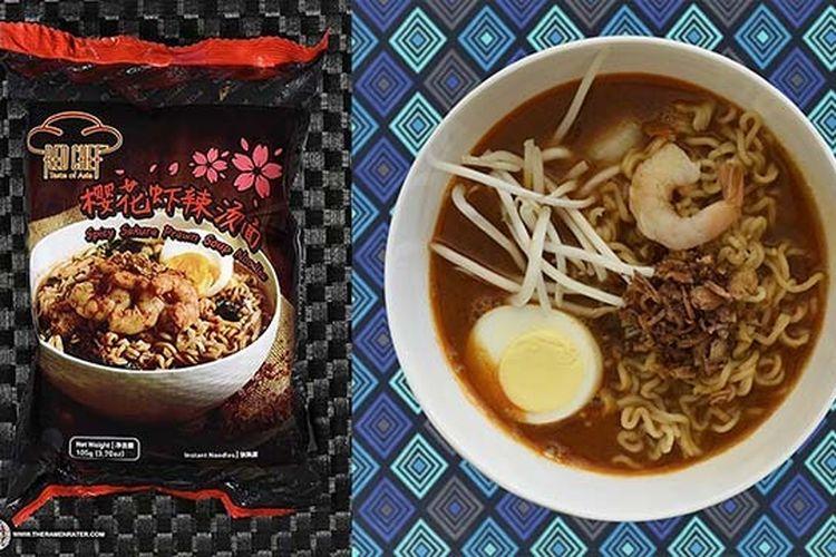 Sau Tao Tom Yum Kung Flavour Ramen ? Hong Kong, ramen dari Hong Kong masuk 10 besar mi instan terenak menutut The Ramen Rater.