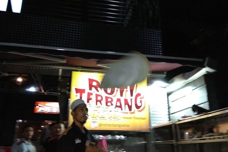 Roti Terbang Satria, di Solo, Jawa Tengah.
