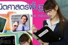 Aktris Porno Jepang Jadi Sampul Buku Matematika di Thailand