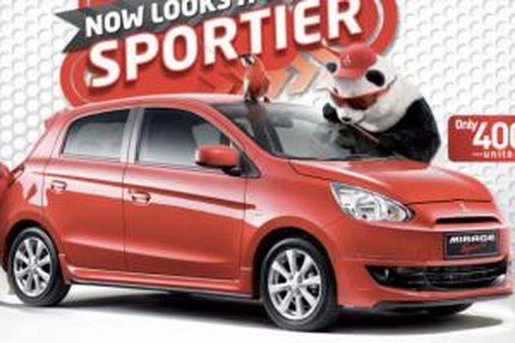 Sosok Mirage Limited sudah dipasarkan di Malaysia sejak Juni 2013.