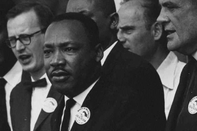 Tokoh pergerakan kulit hitam AS, Martin Luther King.