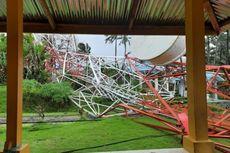 Dampak Siklon Surigae, Tower BTS Roboh hingga Pohon Tumbang di Sangihe